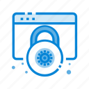 data, lock, protection, secure, security, server, shield icon