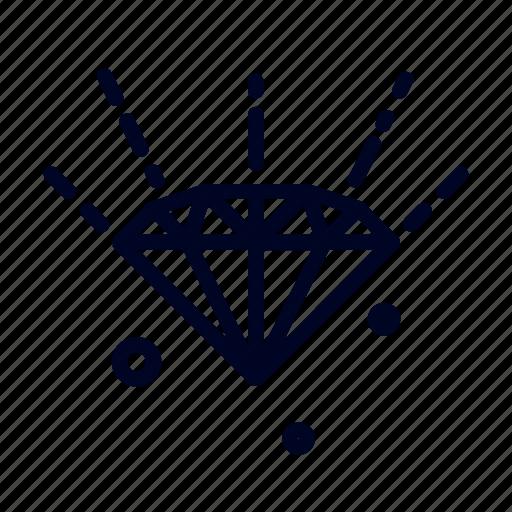conceptional, diamond, idea, precious, ui, web icon