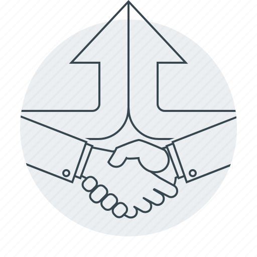 agreement, business, hands, handshake, partners icon