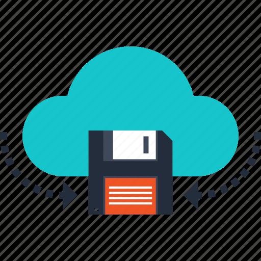 cloud, computing, data, hosting, internet, network, storage icon