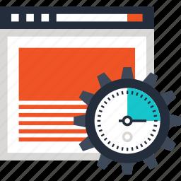 development, optimization, performance, seo, speed, web, website icon