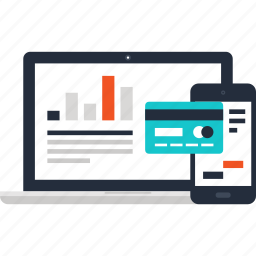 banking, commerce, digital, finance, internet, online, shopping icon