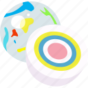 candies, confectionery, gobstopper, jaw breaker, jaw buster, jawbreaker, sweets icon