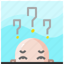 businessman, doubt, man, mark, people, question, user icon