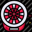 archery, arrow, board, dart, game, gaming, target icon