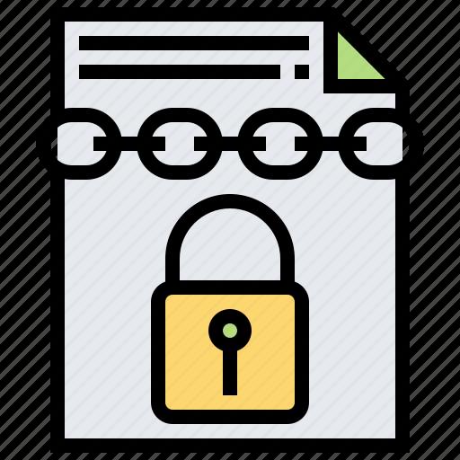 Confidential, data, document, file, secret icon - Download on Iconfinder
