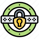 confidential, confirm, information, password, security icon