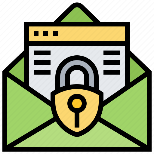 confidential, email, letter, mail, secret icon