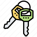 key, lock, protection, secret, security icon