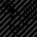 analysis, data, graph, protection, shield icon