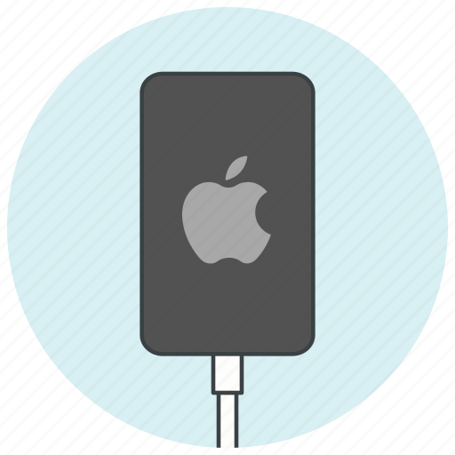 apple, charge, charger, device, iphone, phone, smartphone icon