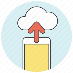 backup, cloud, data, database, icloud, storage, upload icon