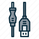 cable, charger, connector