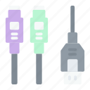 usb, cable, connector, port