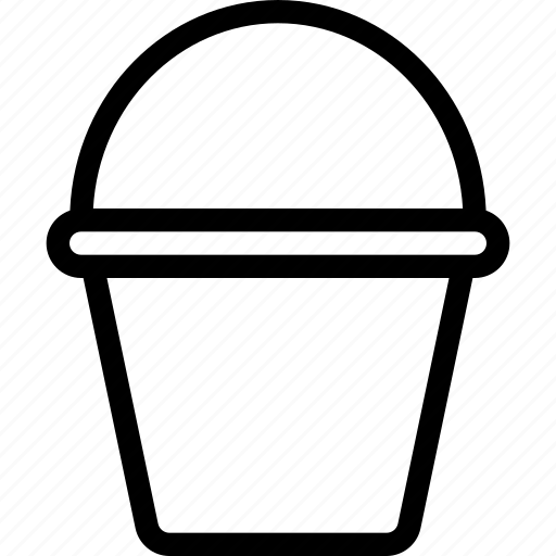 box, bucket, construction, container, design icon