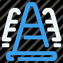 architecture, build, cone, construct icon