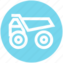 .svg, construction, heavy machine, heavy vehicle, loading, transport, truck icon