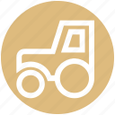 .svg, construction, farm tractor, farm vehicle, tractor, transport, vehicle icon