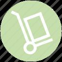 .svg, cargo, cargo cart, cart, construction, delivery, warehouse icon