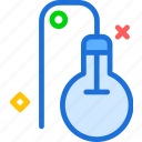 bulb, electric, light icon