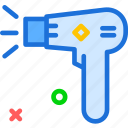 dryer, finish, interior, tool, work icon
