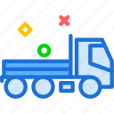 build, car, transport, truck icon