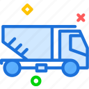build, car, empty, heavy, materials, transport, truck