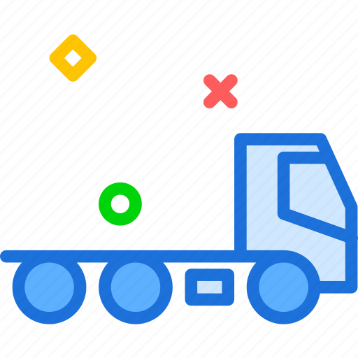 car, head, heavy, strong, transport, truck icon