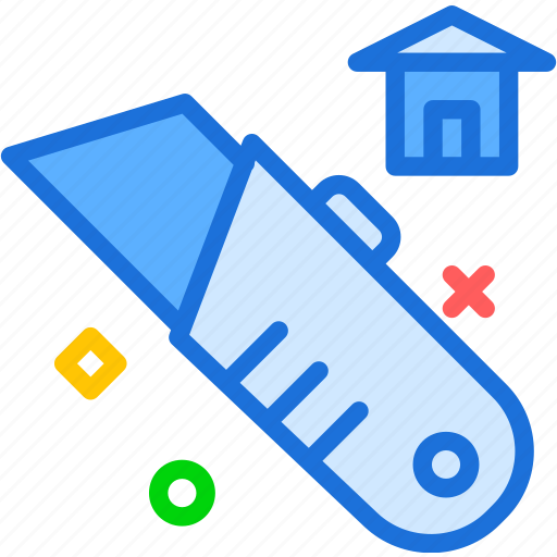 cutter, home, tool, work icon