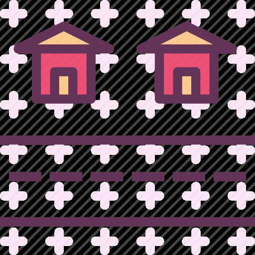 building, heavy, home, house, machine, sroad icon