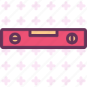 boloboc, laser, level, leveler icon