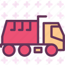 car, mud, transport, truck