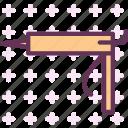 pistol, manual, foam, worker, contruction, man