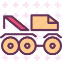 car, monster, transport, truck icon