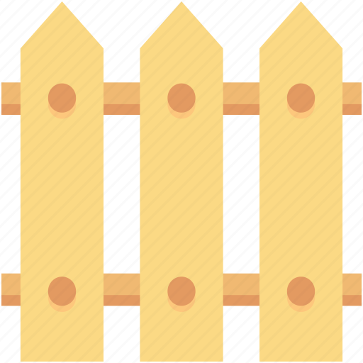 Fence, fence panels, garden fence, picket fence, plank fence icon - Download on Iconfinder