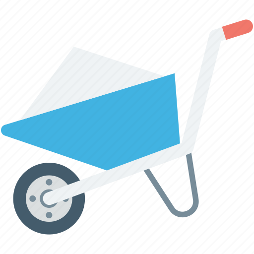 Barrow, cart, hand cart, hand truck, wheelbarrow icon - Download on Iconfinder