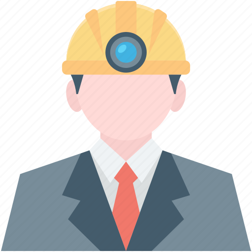 architect, construction worker, engineer, miner, worker icon