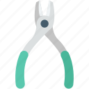 mechanic, pincer, plier, repair tool, work tool icon