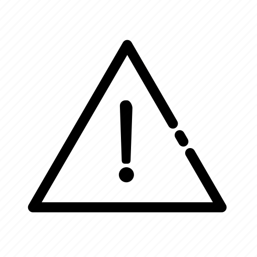 alert, danger, exclamation mark, triangle, warning icon