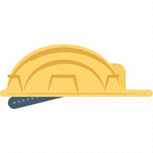 builder hat, hard hat, headgear, miner cap, worker cap icon