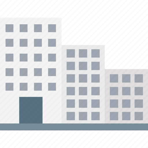 accommodation, apartments, building, flats, hotel icon