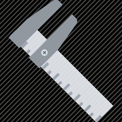 calipers, engineering tool, instrument, tool, vernier, vernier caliper icon
