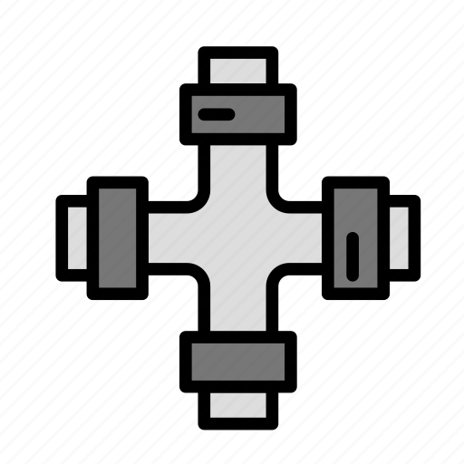 build, fabric, plumbing, site, work icon
