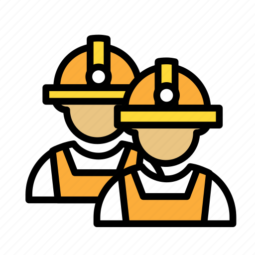 build, fabric, site, work, workers icon
