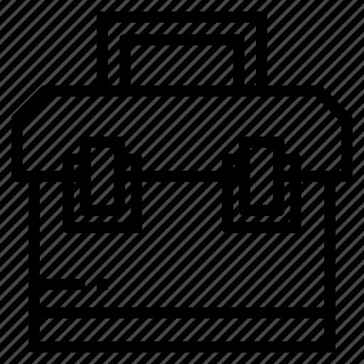 box, construction, repair, service, tools icon