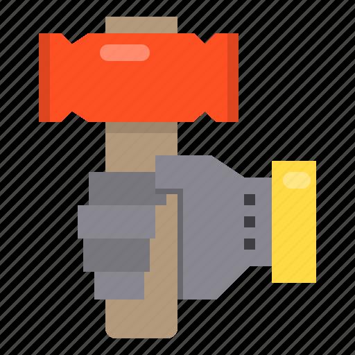 construction, hammer, repair, service icon