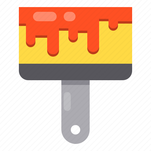 construction, paint, repair, tool icon