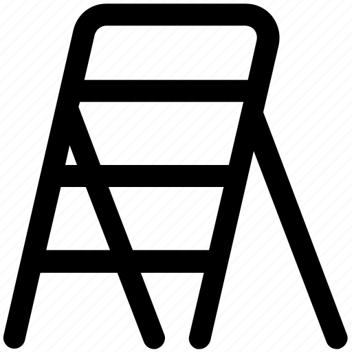 .svg, construction ladder, ladder, railing stair, stairs, steps icon