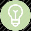 .svg, bulb, electric lamp, light, light bulb, light emitting diode, power station icon