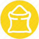 .svg, cement sack, construction material, sack, sand bag, sand sack icon